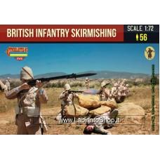 Strelets 133 British Infantry Skirmishing 1/72