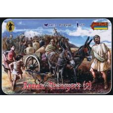 Strelets 117 Roman Transport 2 1/72