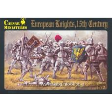 Caesar 091 European Knights 15th Century 1/72