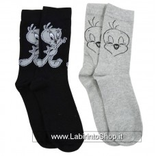 Looney Tunes Socks 2-Pack Tweety