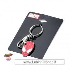 Spider-Man Metal Keychain Face