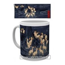 Japanese Art Mug New Years Eve Foxfire by Utagawa Hiroshige