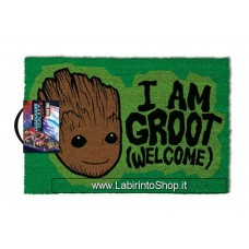 Guardians of the Galaxy Vol. 2 Doormat I AM GROOT - Welcome 40 x 57 cm