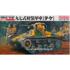 "FineMolds 1/35 Imperial Japanese Army Tankette Type 97 ""Te-Ke"" FM10"