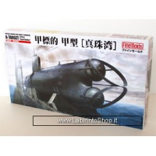 FineMolds 1/72 Imperial Japanese Navy Midget Submarine A-target Type A Pearl Harbor