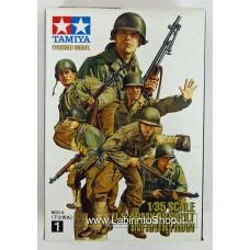 Tamiya 1/35 Scale Us Assault Infantry N.1