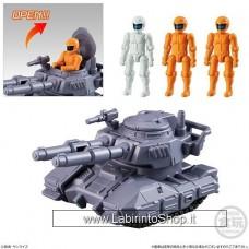 Mobile Suit Gundam MicroWars Type 61 Tank & 3 pilots