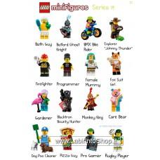 Lego Minifigure Serie 19 - completa