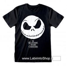 Nightmare before Christmas T-Shirt Jack Face & Logo