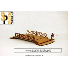 Sarissa Railed Bridge - 28mm M024