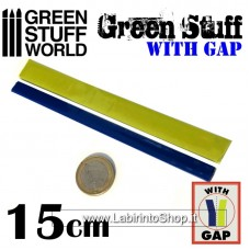 Green Stuff Tape 6 inches (15 cm) with gap