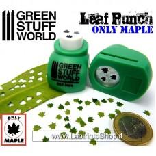 Green Stuff World Miniature Leaf Punch Medium Green