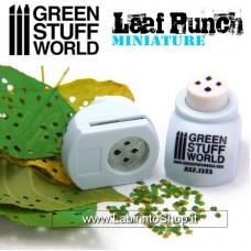 Green Stuff World Miniature Leaf Punch Light Blue