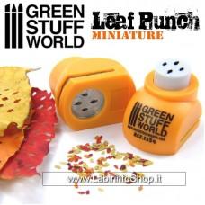 Green Stuff World Miniature Leaf Punch Orange