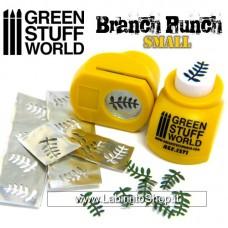 Green Stuff World Miniature Leaf Punch Yellow