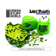 Green Stuff World Miniature Leaf Punch Light Green