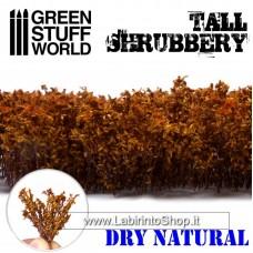 Green Stuff World Tall Shrubbery - Dry Natural