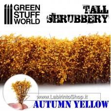 Green Stuff World Tall Shrubbery - Autumn Yellow