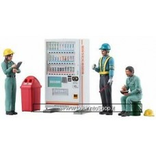 Hasegawa Construction Worker Set B (Plastic model) 1/35