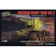 Forces of Valor 1/72 Plastic Model Kit Russian Heavy Tank KV-2