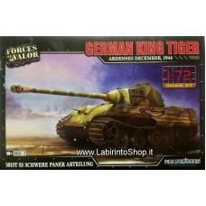 Forces of Valor 1/72 Plastic Model Kit German King Tiger