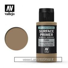 Vallejo Model Color Surface Primer German Dark Yellow 73.604 60ml