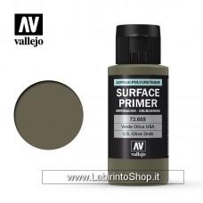 Vallejo Model Color Surface Primer USA Olive Drab 73.608 60ml