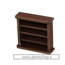 4ground 28mm Scale Small Book Shelf 28s-fab-001m