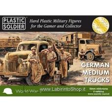 PLASTIC SOLDIER CO: 1/100 German Medium Trucks