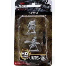 Dungeons & Dragons: Nolzur's Marvelous Unpainted Minis: Drow