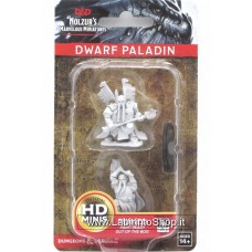 Dungeons & Dragons: Nolzur's Marvelous Unpainted Minis: Dwarf Paladin