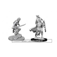 Dungeons & Dragons: Nolzur's Marvelous Unpainted Minis: Elf Fighter