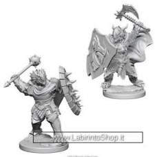 Dungeons & Dragons: Nolzur's Marvelous Unpainted Minis: Dragonborn Paladin