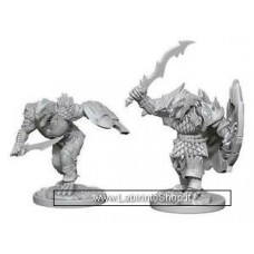 Dungeons & Dragons: Nolzur's Marvelous Unpainted Minis: Dragonborn Fighter