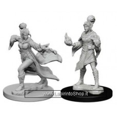 Dungeons & Dragons: Pathfinder Battles Unpainted Minis: Elf Female Sorcerere