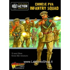 WarLord Chinese PVA Infantry Squad