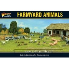 Warlord Farmyard Animals 28mm