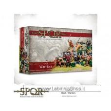 Warlord SPQR Gaul Warriors 28mm