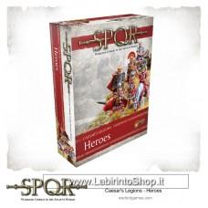 Warlord SPQR Caesar's Legions Heroes 28mm