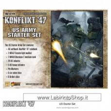 Warlord Konflikt 47 Starter Set US Army 28mm