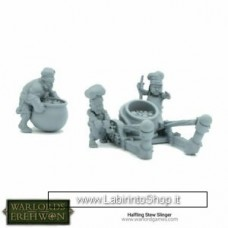 Warlord Erehwon Halfling Pot Launcher 28mm