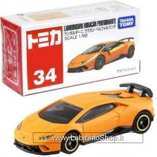 Takara Tomy TOMICA No. 34 Lamborghini Urakan Performante Diecast