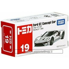 Takara Tomy TOMICA No. 19 Ford GT Silver Diecast