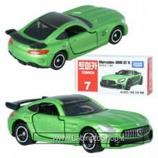 Takara Tomy TOMICA No. 7 Mercedes AMG GT R Diecast