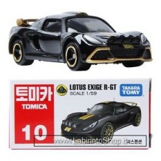 Takara Tomy TOMICA No. 10 Lotus Exige R-gt 1/59 Diecast