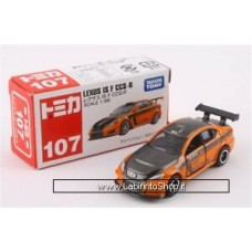 Takara Tomy TOMICA No.107 Lexus ISF CCS R Diecast