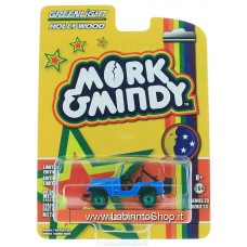 GreenLight 1/64 - Hollywood - Mork and Mindy 1972 Jeep CJ-5 Diecast Car