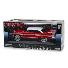 GreenLight 1/24 - Hollywood - 1958 Plymouth Fury Christine Evil Version Diecast Car