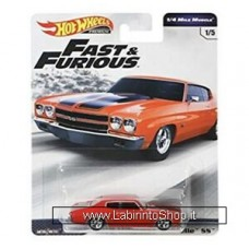 Hot Wheels - Fast and Furious - 1970 Chevrolet Chevelle SS Diecast Car
