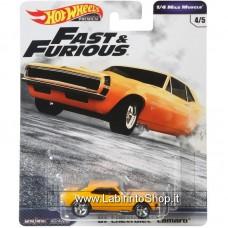 Hot Wheels - Fast and Furious - 67 Chevrolet Camaro Diecast Car